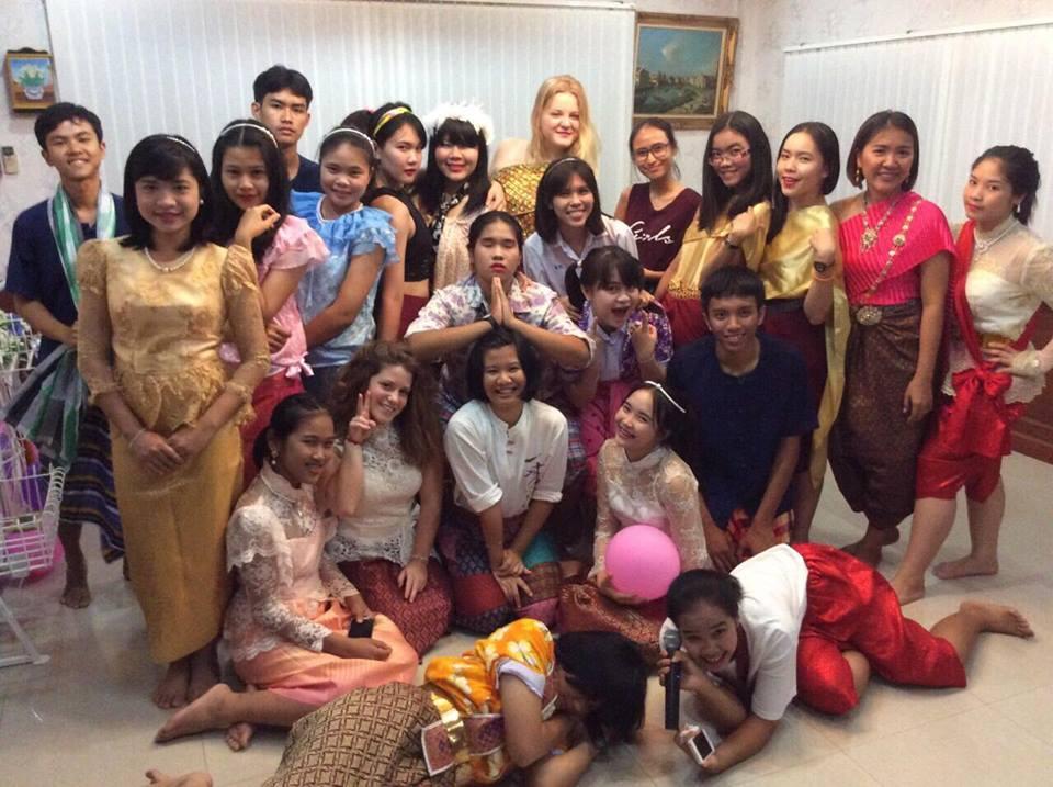 thailändische Menschen