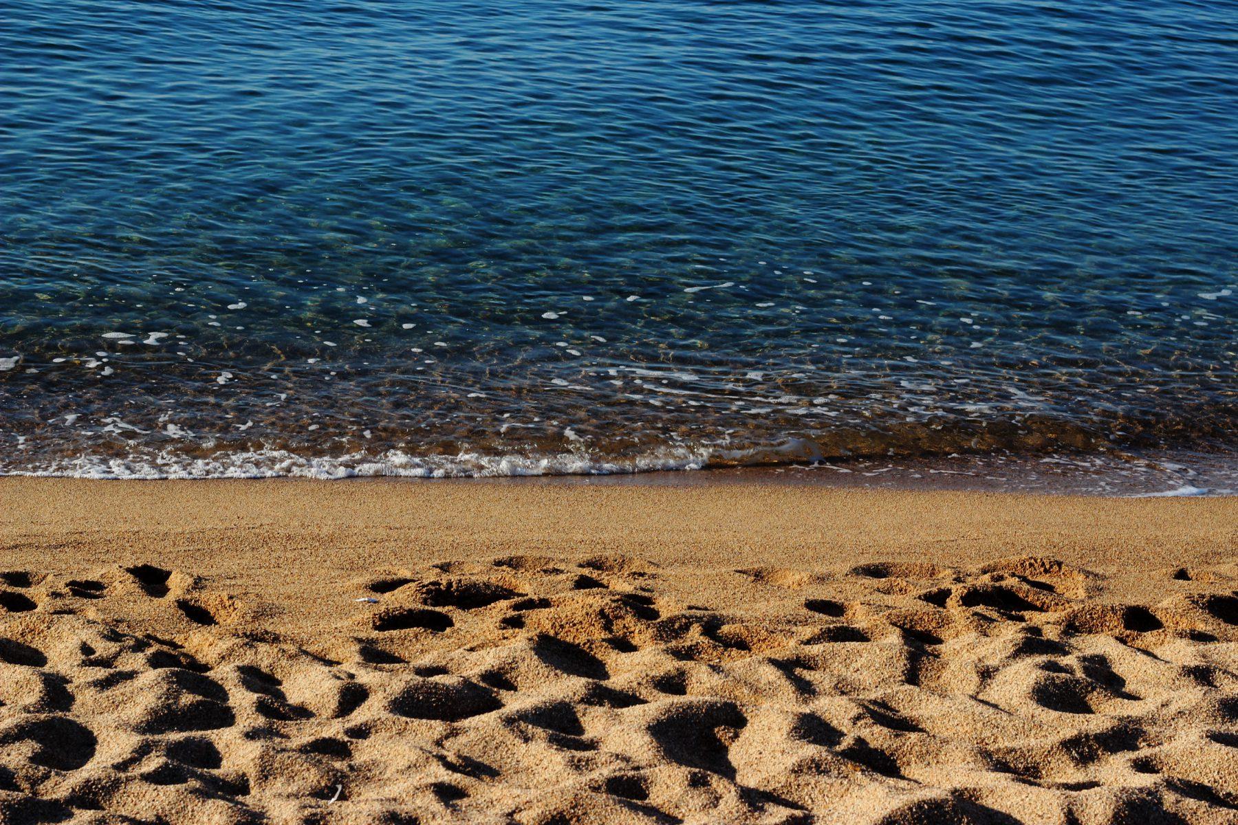 Der Strand war super schön